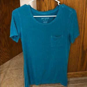 Teal American Eagle Soft & Sexy Tee